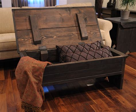 How To Make An Ottoman From A Coffee Table How To Build An Ottoman With Storage