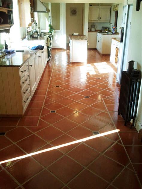 Kitchen Floor Tiles Terracotta Terracotta West Surrey Tile Doctor