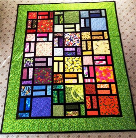 quilt pattern stained glass easy stained glass quilt in green quilting patterns