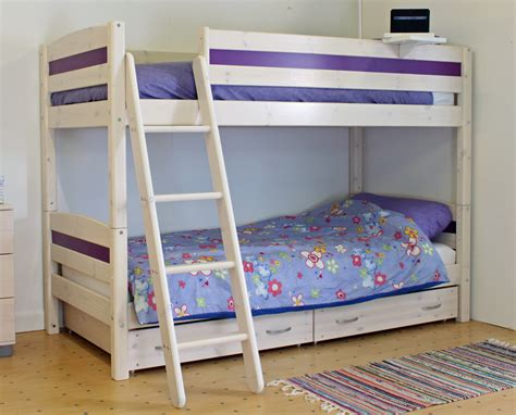 trendy beds thuka trendy bunk bed b rainbow wood