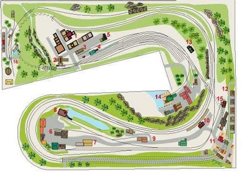 free railway layout design free ho layout plans ho scale building plans free