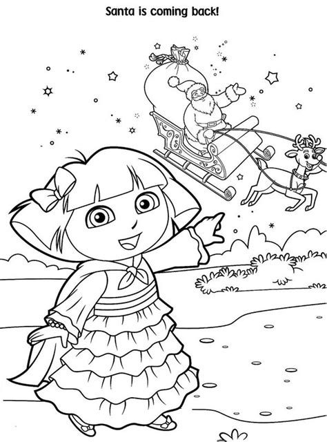 happy birthday dora coloring pages doras birthday free coloring pages