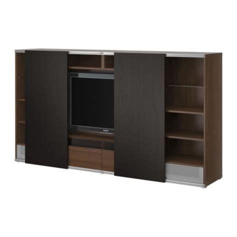 besta sliding door 17 best images about deco furniture tv stands on pinterest