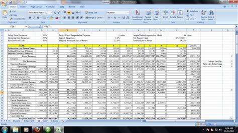 format cash flow lengkap cash flow pada perusahaan tambang formula exel hauling