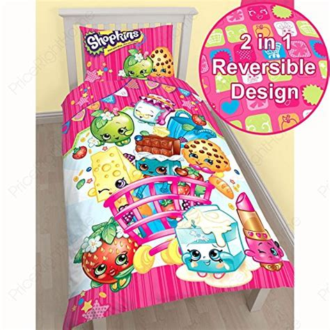cookie bed set shopkins bedding comforters blankets