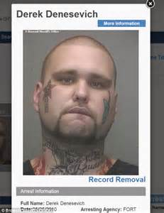 Derek Bentley Newspaper Article With Bentley Logo Tattooed On Arrested For