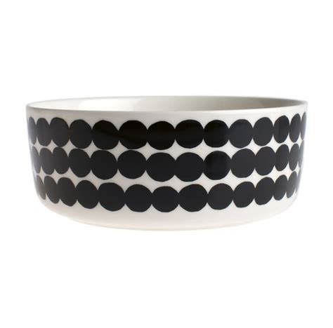Monochrome Graphic 18 graphic monochrome dots serving oven bowl by with new