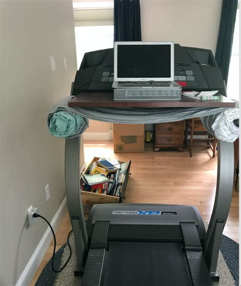 desk treadmill diy diy treadmill desk in four steps picture tutorial spin