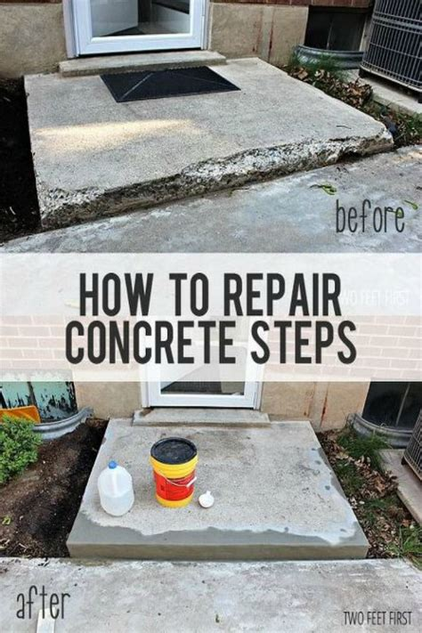 how to fix a sinking front porch 17 best ideas about concrete steps on pinterest garden