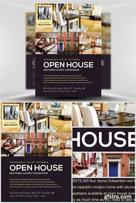 open house brochure template 17 best images about flyers on poster designs
