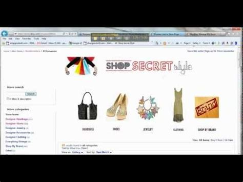 webstore your own ebay storefront how to create your own ebay store custom header youtube