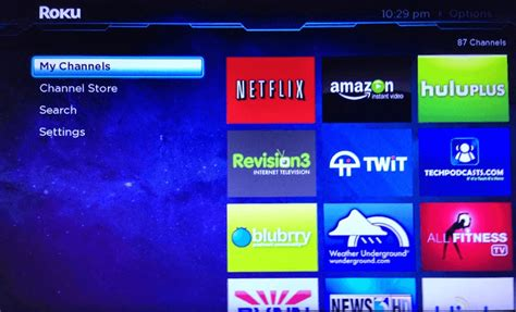 roku updates interface adds grid menu  search geek news central