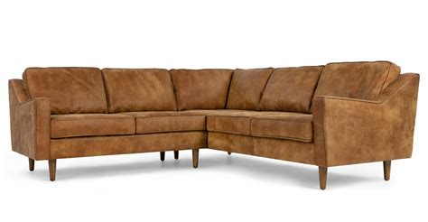 dallas couches dallas corner sofa outback tan premium leather made com