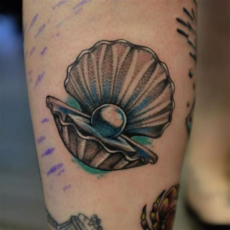 clam tattoo 42 clam ideas and designs collections