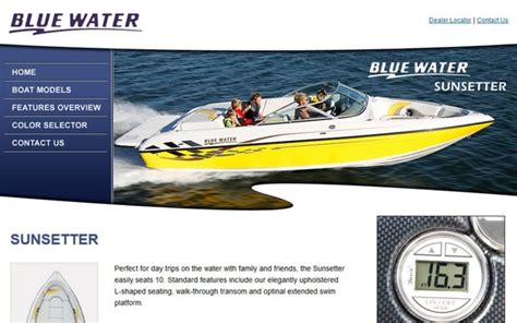 bluewater boats website cion marine acquires reinell and bluewater boats news