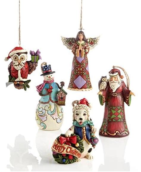 jim shore christmas ornaments collection macy s
