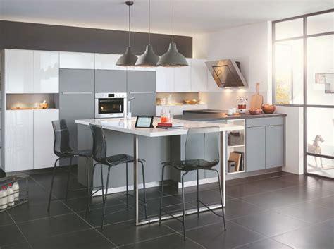 d馗o cuisine et gris craquez pour une cuisine grise d 233 coration