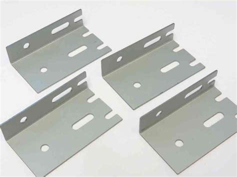 Plumbing Brackets - radiator wall brackets universal fitting set of 4