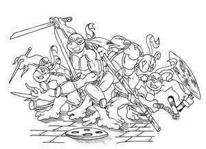 desenhos colorir das tartarugas ninja