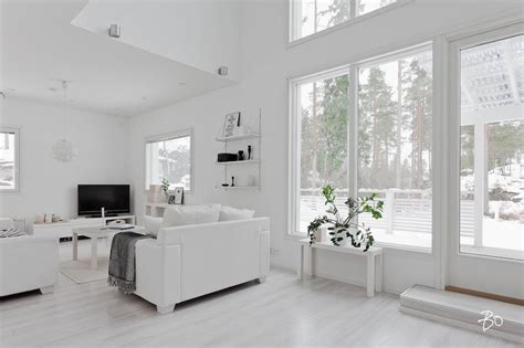 Interior Design White Living Room by Designing Home Interior In A White Palette