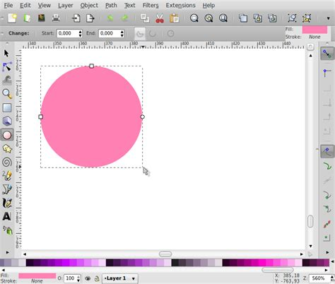 cara membuat outline di inkscape membuat bentuk love inkscape panduan blankon