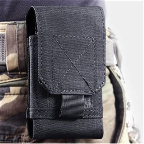Headphone Universal Storage Pouch Bag Headphon Limited universal leather waist phone bag phone wallet pouch