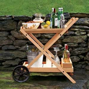How to build an outdoor bar cart 10 smart ideas for outdoor kitchens