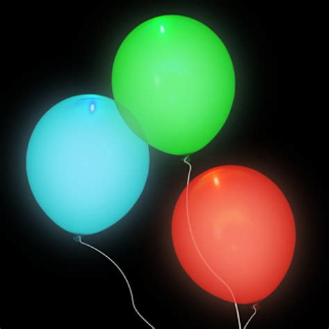 Balon Led Balon Lu Glow In The blinking led balloons 10 pc variety colors