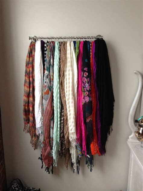 Scarf Racks For Closets by 17 Best Images About Closets On Diy Hat Rack Scarf Organization And Shower Curtain