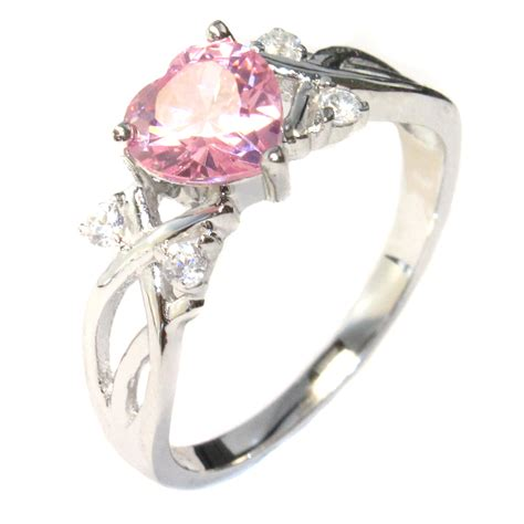 Pink Ring by Promise Rings For Stylish