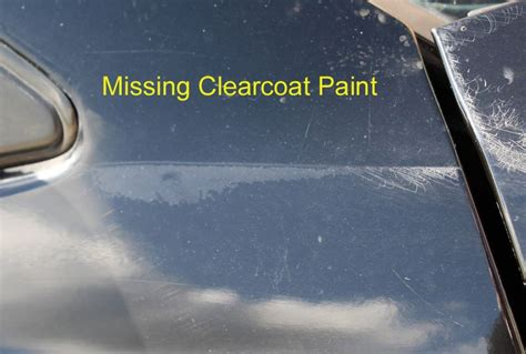 clearcoat burn through how to tell missing clearcoat strike through