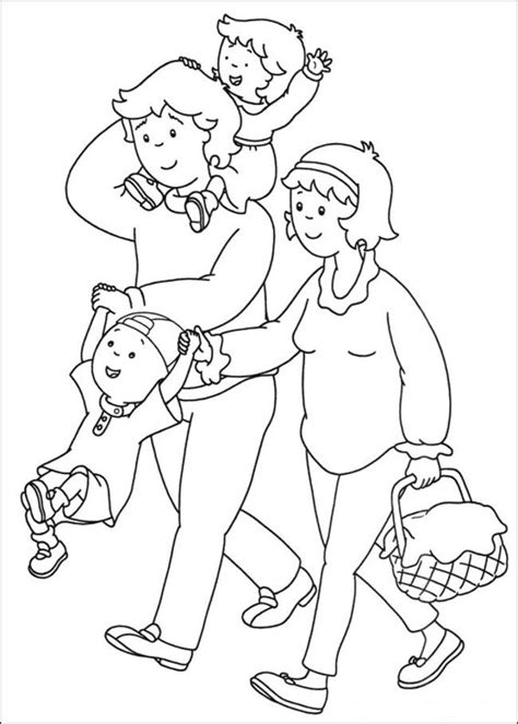 caillou coloring pages pdf caillou coloring pages online picture 29 free printable