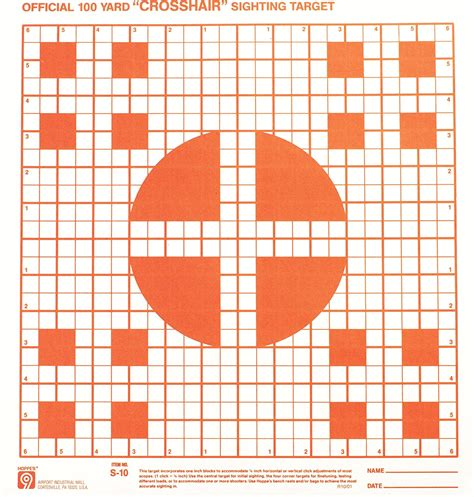 printable rifle sight in targets 100 yard sight in target pictures to pin on pinterest