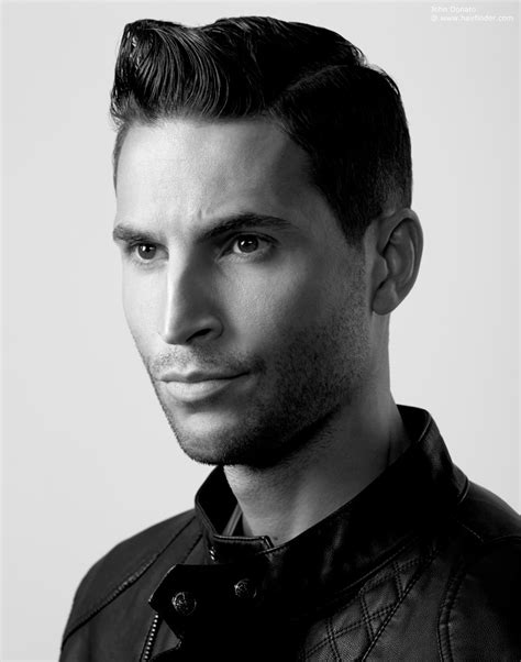 1940s mens hairstyles s hairstyle inspired by the slick looks of the 1940s