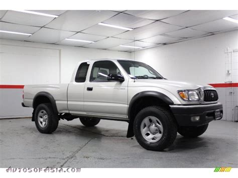 2002 Toyota Tacoma 4x4 For Sale 2002 Toyota Tacoma Xtracab 4x4 In Lunar Mist Metallic