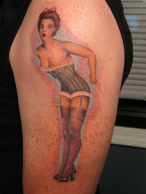 pin up tattoos designs ideas and meaning tattoos for you
