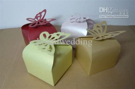 Wedding Cake Delivery Boxes by Wedding Cake Boxes Butterfly Deisgn Wedding Favors By