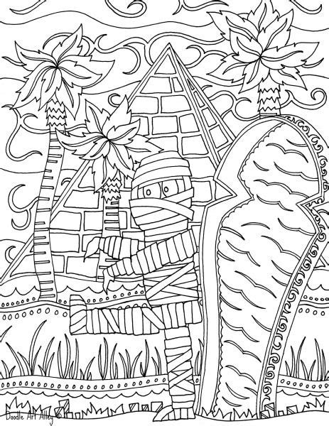 halloween coloring pages intricate mummy jpg coloring pages and printables pinterest