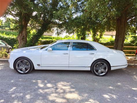 white bentley mulsanne white bentley mulsanne hire