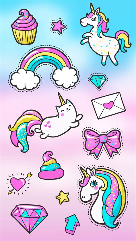 imagenes de unicornios voladores stickers fantas 237 a imagenes de unicornios kawaii