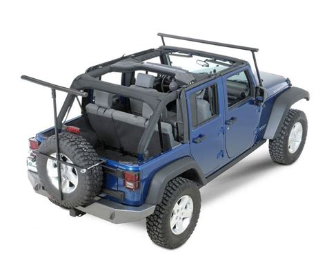 Roof Rack For Jeep Wrangler Unlimited Soft Top Lange Originals The Rack Jeep Outdoor