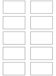 Storyboard Template 6 Boxes by Storyboard Template 2 Larger By Kobb On Deviantart