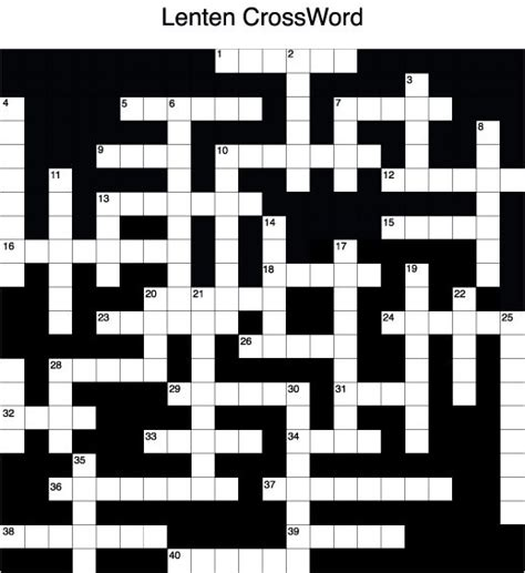 Brief Glance Crossword Clue 17 best images about lent on catholic religious education crafts and grade 2