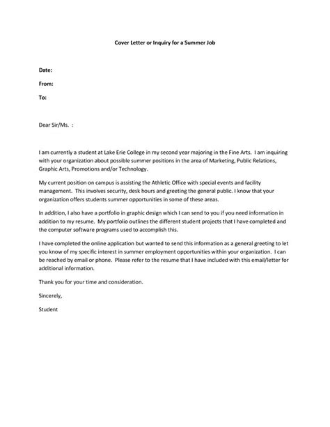 cover letter for college application exle application letter exles for part time 28 images cover