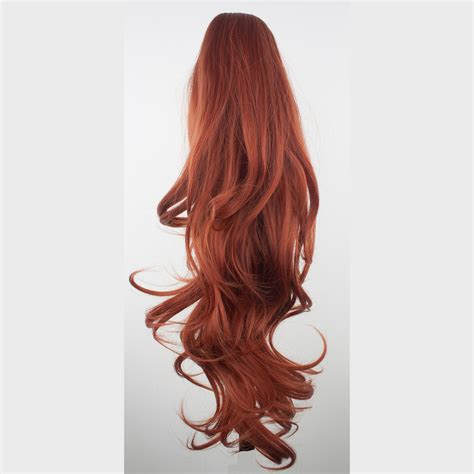 ponytails at work hair extensions types hair extensions ponytail clip in hair extensions copper 350 reversible 4