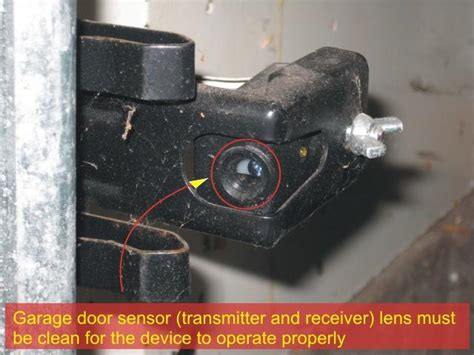 Garage Door Sensors Troubleshooting door sensors a detection pattern that covers