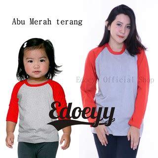 Kaos Anak Hurley Reglan Baju Anak Fashion Anak Tshirt Anak 3 kaos family kaos keluarga lengan raglan raglan