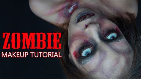zombie tutorial youtube zombie makeup tutorial no facepainting bahasa youtube