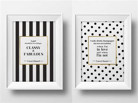 coco wall art chanel prints chanel quote coco prints coco chanel quote wall art printable typographic poster