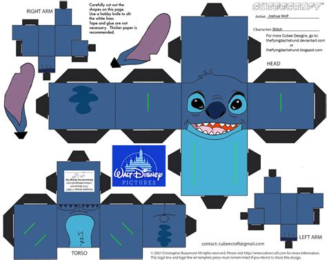Cubee Papercraft - dis8 stitch cubee by theflyingdachshund on deviantart